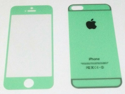 Defunct DEFTG5S014 Tempered Glass for Apple iPhone 5, 5s