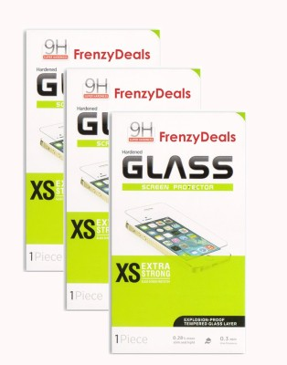 FrenzyDeals CTG 483 Pack Of 3 Tempered Glass for Micromax A116 Canvas HD available at Flipkart for Rs.475