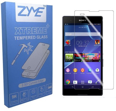 ZYME Xtreme Plus Z-20 2.5D Curved Tempered Glass for Sony Xperia T2
