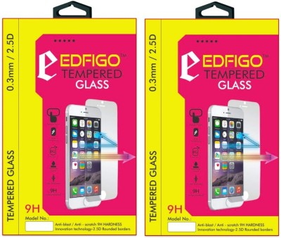 Edfigo PE-TL10 Curved Edges Pack of 2 Tempered Glass for Huawei Honor 6 Plus