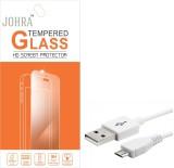 Johra Tempered Glass Guard for HTC One E...