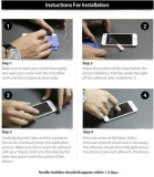 S-Model Tempered Glass Guard for Apple i...