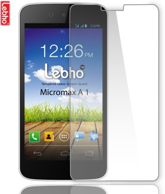 Lebho LBA1 Tempered Glass for Micromax Canvas A1