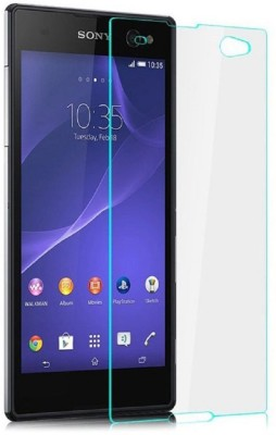 Giftico 109Ultra Thin 0.26mm Explosion-proof 2.5D Curve Edge 9H Tempered Glass for Sony Xperia C3