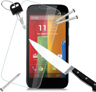 JavaTech RedDragon Charlie TP42 Tempered Glass for Moto G (1st Gen)