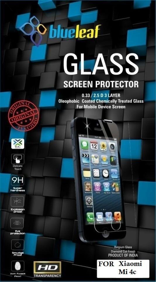 Blueleaf Tempered Glass Guard for Xiaomi Mi 4c