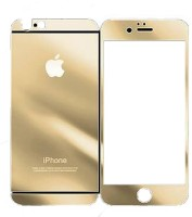 Vraga Tempered Glass Guard for Apple iPhone 4, Apple iPhone 4s Gold