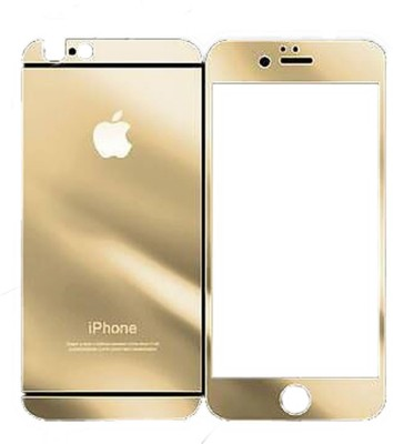 Vraga Temp-40005 Tempered Glass for Apple iPhone 5, Apple iPhone 5c, Apple iPhone 5s Gold