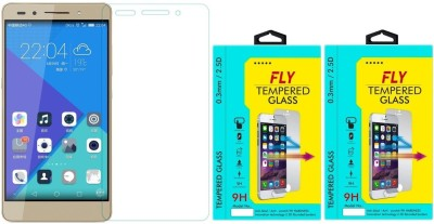 Fly HR-7 Oil Coated Pack of 2 Tempered Glass for HuaweiHonor 7
