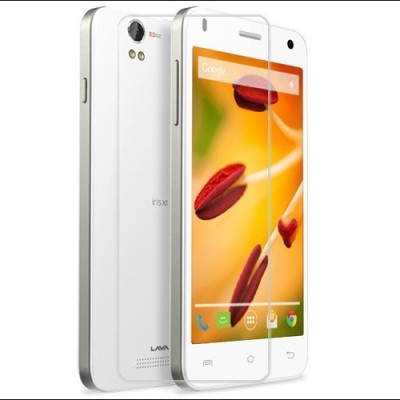 AMETHYST Tempered Glass Guard for LAVA iRiS X9