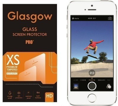 Glasgow AG Ultra Clear HD Tempered Glass for Apple iPhone 5s