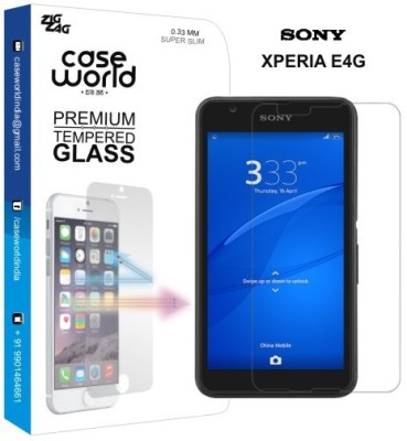 Case World TGXE4G Tempered Glass for Sony Xperia E4G