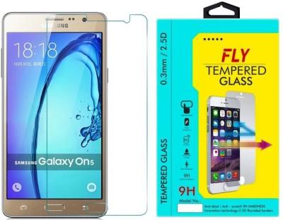 Fly SM-CURVED-G550FZKDINS/SM-G550FZDDINS Tempered Glass for Samsung Galaxy ON5