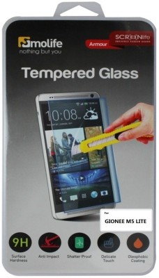 Molife Tempered Glass Guard for GIONEE M5 LITE
