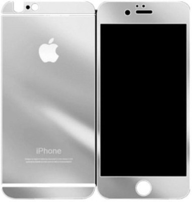 GG ENTERPRISES 6 6s Silver Tempered Glass for Iphone 6 6s