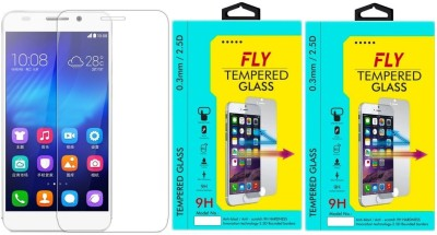 Fly HR-6 Oil Coated Pack of 2 Tempered Glass for HuaweiHonor 6