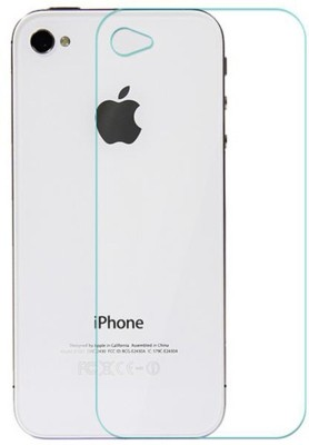 DAILYWRECK 4S Tempered Glass for APPLE I PHONE 4S BACK