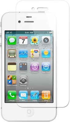 Mudshi Tempered Glass Guard for Apple iPhone 4s