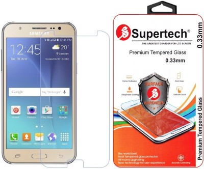 Supertech Tempered Glass Guard for Samsung Galaxy J7