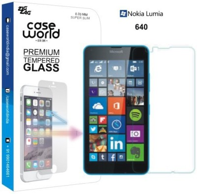 Case World Tempered Glass Guard for Nokia Lumia 640