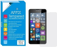 Affix Tempered Glass Guard for Microsoft Lumia 640