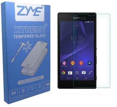 ZYME Xtreme Plus Z-21 2.5D Curved Tempered Glass for Sony Xperia T3
