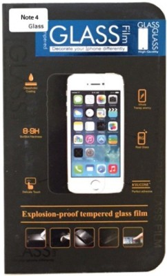 Retailadda SN44403 Tempered Glass for Samsung Galaxy Note 4