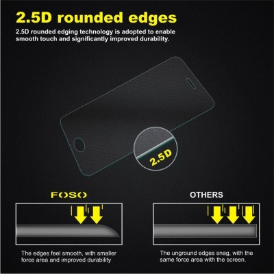 Foso Apple iPhone 5/5S/5C Tempered Glass for Apple iPhone 5/5S/5C