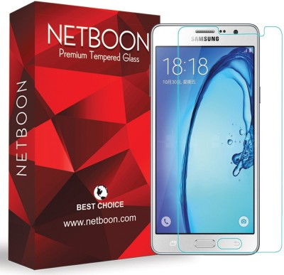 NETBOON Tempered Glass Guard for Samsung Galaxy On7