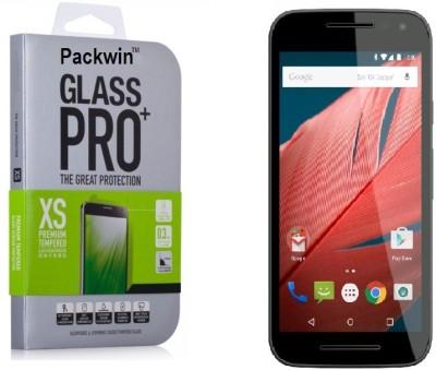Packwin 17600 3rd Gen 0.3mm Premium HD Finish PRO+ Tempered Glass for Motorola Moto G 3rd Generation
