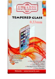 KONARRK Tempered Glass Guard for LAVA ATOM 2