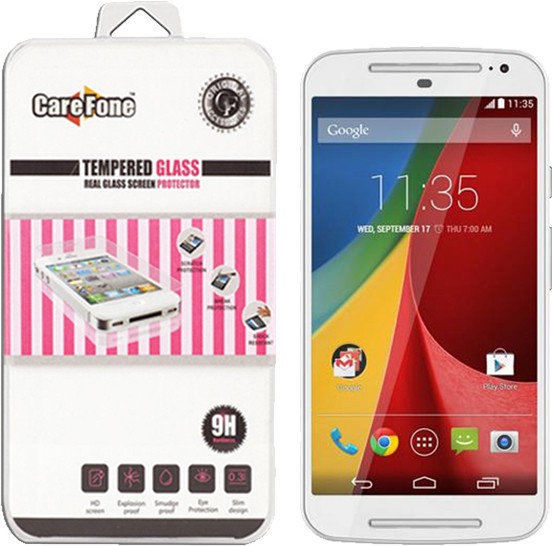 CareFone Tempered Glass Guard for Moto G5