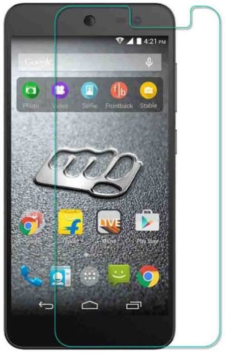Micdeal Tempered Glass Guard for MICROMAX Canvas Amaze�Q395