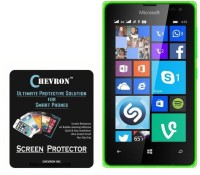 Chevron Tempered Glass Guard for Microsoft Lumia 435 best price on Flipkart @ Rs. 299