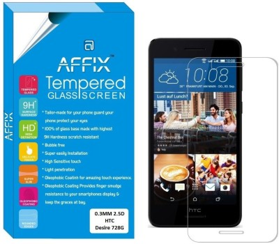 Affix Tempered Glass Guard for HTC Desire 728G