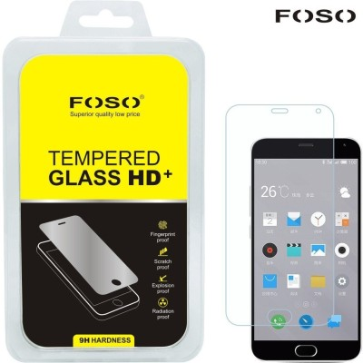 Foso Tempered Glass Guard for Meizu M2 Note (5.5