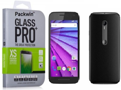 Packwin 17598 3rd Gen 0.3mm HD Ultra Clear PRO+ Tempered Glass for Motorola Moto G 3rd Generation