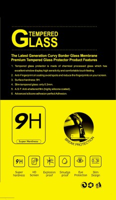 AmzaTech WhiteLilly Shengshou Charlie TP365 Tempered Glass for Micromax Canvas Fire 3 A096
