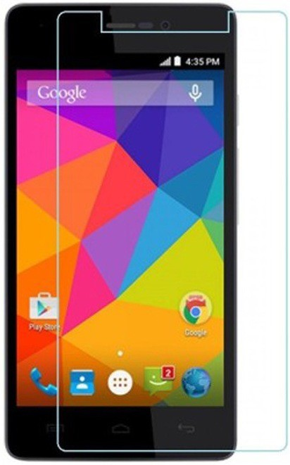 Ramdev Tempered Glass Guard for Micromax Amaze Q491