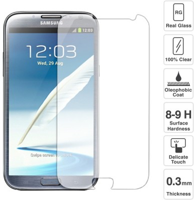 Raj Samsung Note 2 Tempered Glass for Samsung Galaxy Note 2 GT-N7105