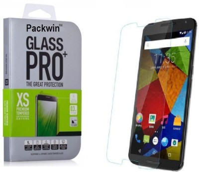 Packwin 17629 2.5D Curve Edge 0.3mm 9H Surface Hardness PRO+ Tempered Glass for Motorola Moto G Turbo Edition