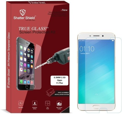 Shatter Shield Tempered Glass Guard for Oppo F1 Plus (5.5