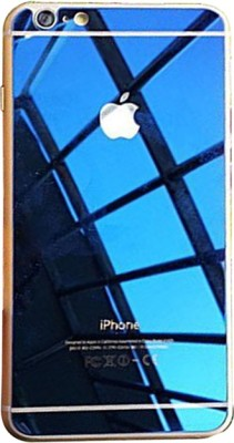 Go Crazzy Electroplated Mirror Front + Back Tempered Glass Screen Protector for IPHONE 4 /4S FF1962 Tempered Glass for APPLE IPHONE 4 /4S