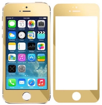 Neutron Front Back Golden Tempered Glass Tempered Glass for Apple Iphone 5 5s