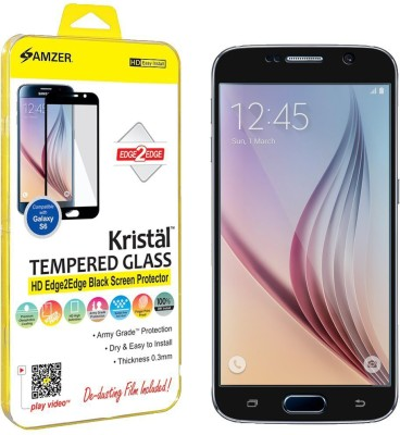 Amzer Tempered Glass Guard for Samsung Galaxy S6 Sm-G920f