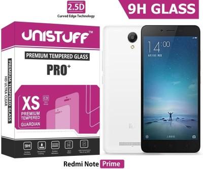 Unistuff Tempered Glass Guard for Redmi Note Prime