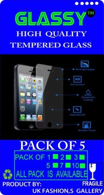 GLASSY GE-213 (PACK OF 5) Tempered Glass for Gionee Elife S+