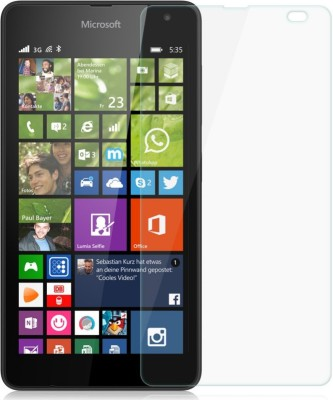 Siddhisales MICROLUM535 Tempered Glass for Microsoft Lumia 535