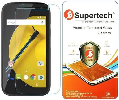 Supertech M2-4GTH Tempered Glass for Motorolo Moto E 2nd Generation 4G