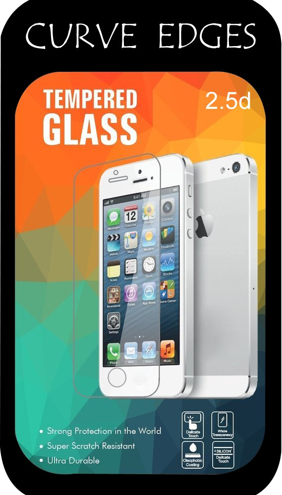 Go Crazzy Tempered Glass Guard for Universal 5.0
